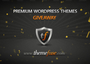 Giveaway #3: 3 premium WordPress themes from ThemeFuse